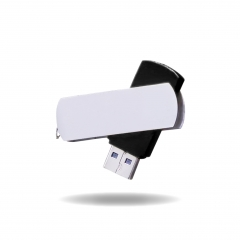 【MD501A】(USB2.0)Metal USB Flash Drive with Swivel Type
