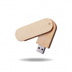 【MD711E】(USB2.0)Wood USB Flash Drive