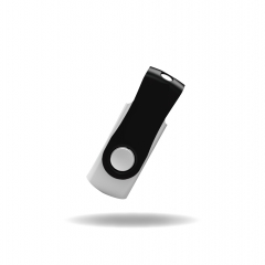 【PC101】(USB2.0)Plastic USB Flash Drive with Swivel Type