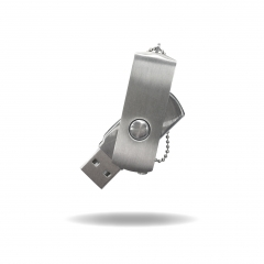 【MD726】(USB2.0)Metal USB Flash Drive with Swivel Type